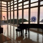 Prow House sunset piano