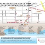 2015 Mendocino Merchants Map