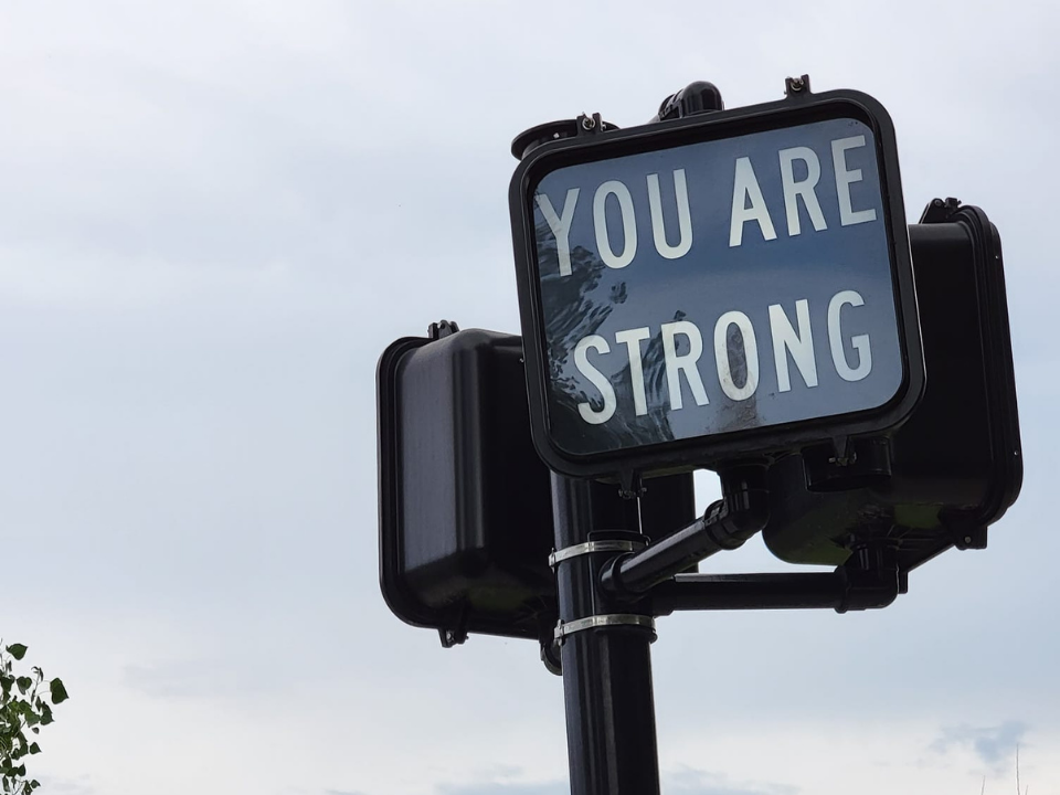 You are strong sign