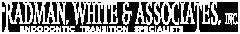 Radman, White & Associates Logo