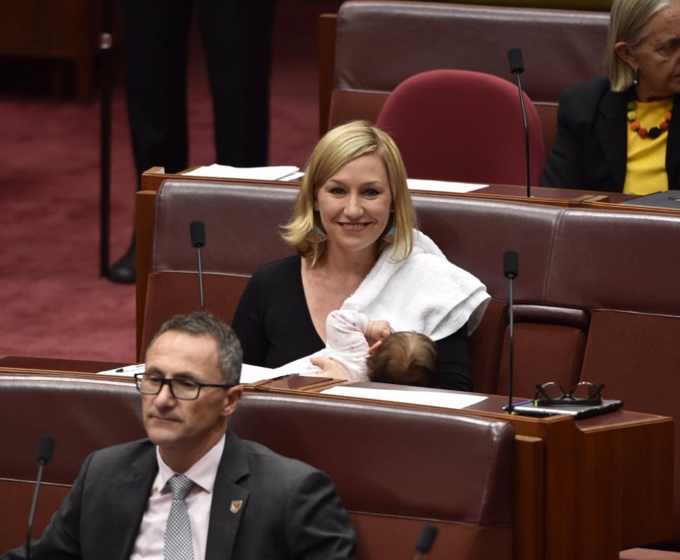 Breastfeeding Politician Makes History