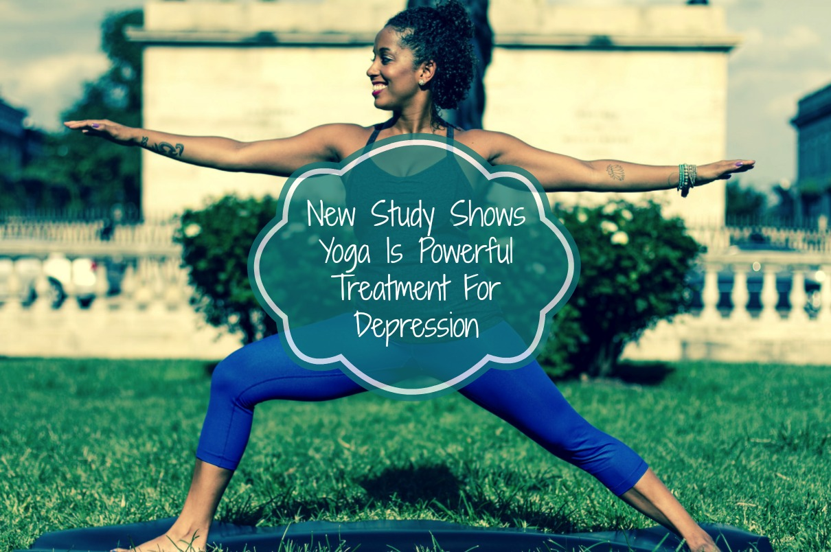 New Study Shows Yoga Is Powerful Treatment For Depression