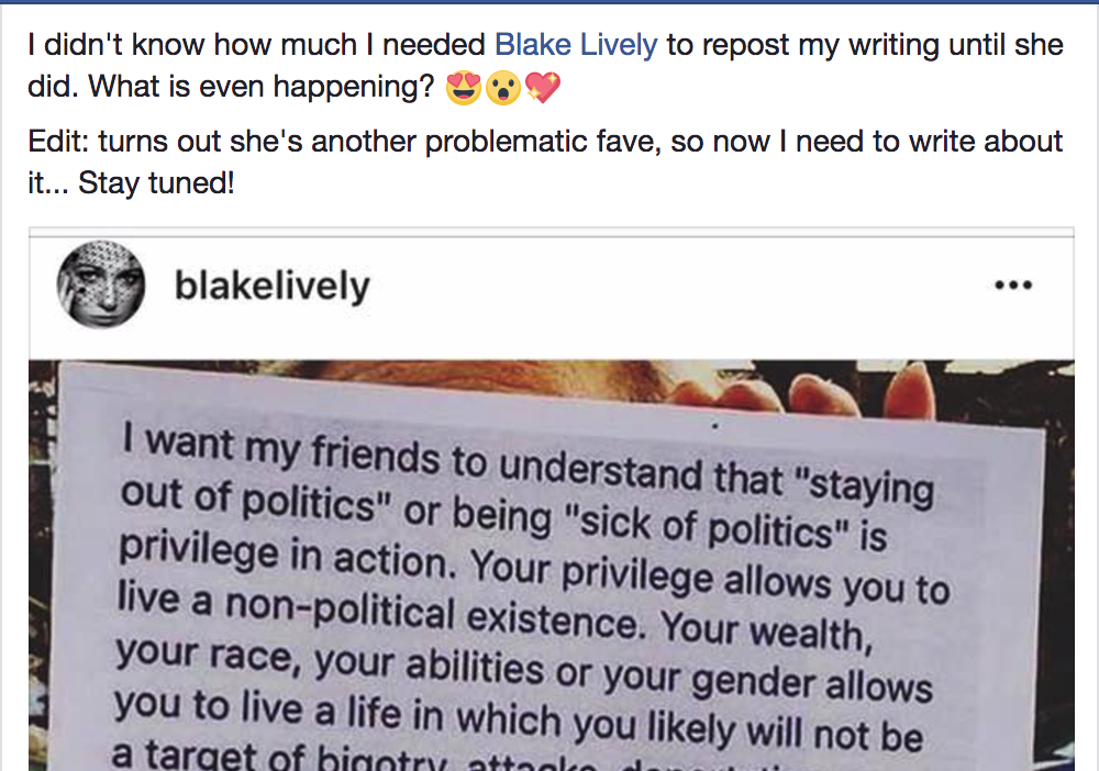 Blake Lively, Amy Schumer: You Shared My Words. Here's What You Need To Do Next