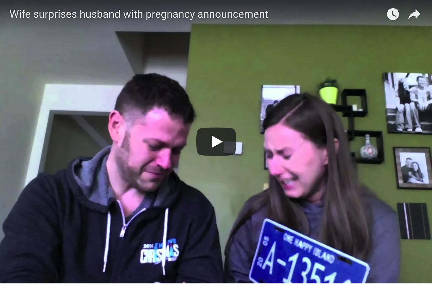 Viral Pregnancy Announcement Videos