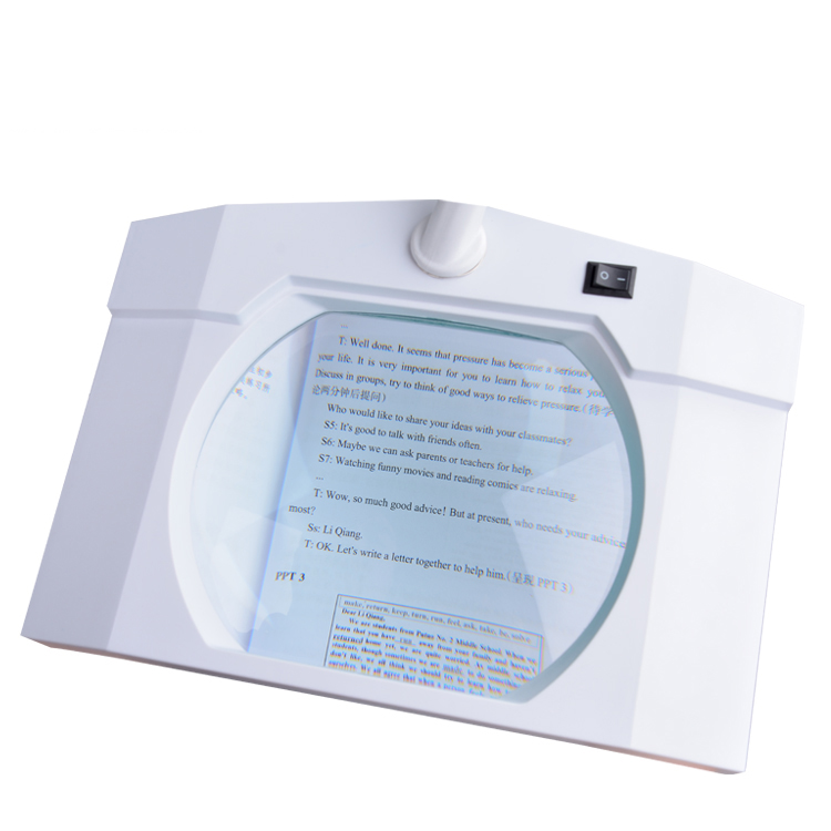Magnifier Lamp Magnifying Led Light Observe And Test The