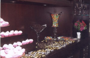 Another view of the Candy Buffet.