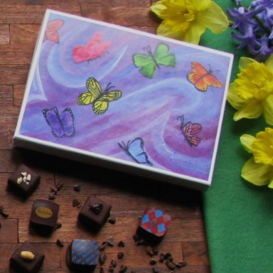 Bellafina Chocolates Young Artist Butterflies