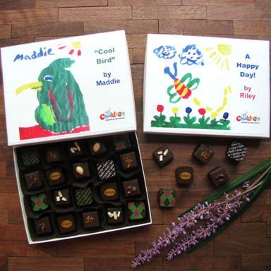 Bellafina Chocolates CEE fundraiser truffles