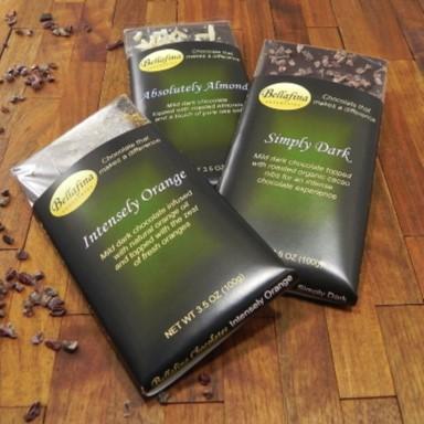 Bellafina Chocolates bars