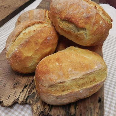 Bellafina Chocolates OUR DAILY BREAD Crusty White