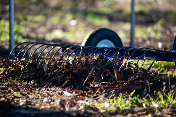 leaf and stick rake