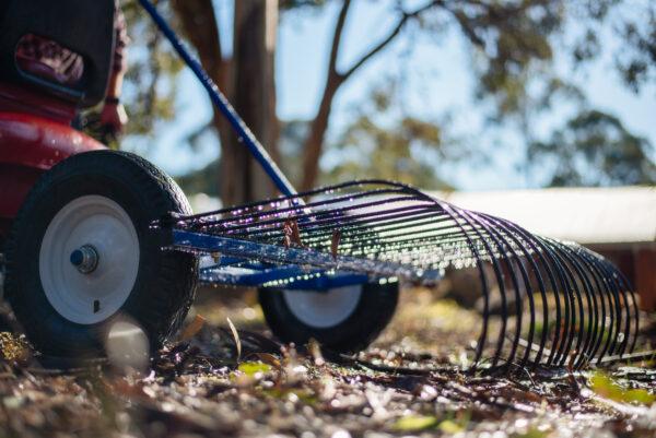 The mini beast stick rake - Dissy Machinery Bendigo