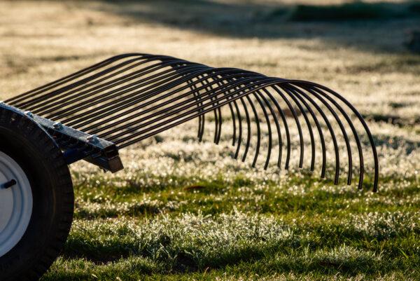 mower landscape rake bendigo