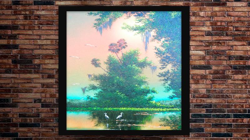 """""""Tangerine Skies"""" by A J Brown"""