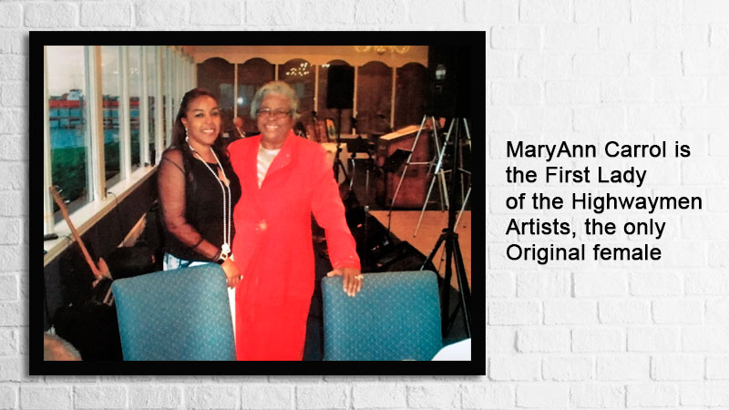 the only female highwaymen and 2nd generation A J Brown are members of Florida humanities council
