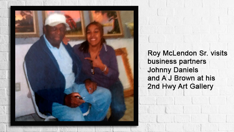 2008 Original Highwaymen and Historic AJ Brown are a part of the Fort Pierce, Florida Highwaymen Trail