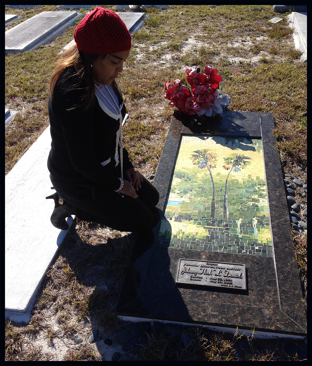 Highwaymen Heritage Trail:  Johnny Daniels grave-site monument is on the Fort Pierce Trail, Tour and Website