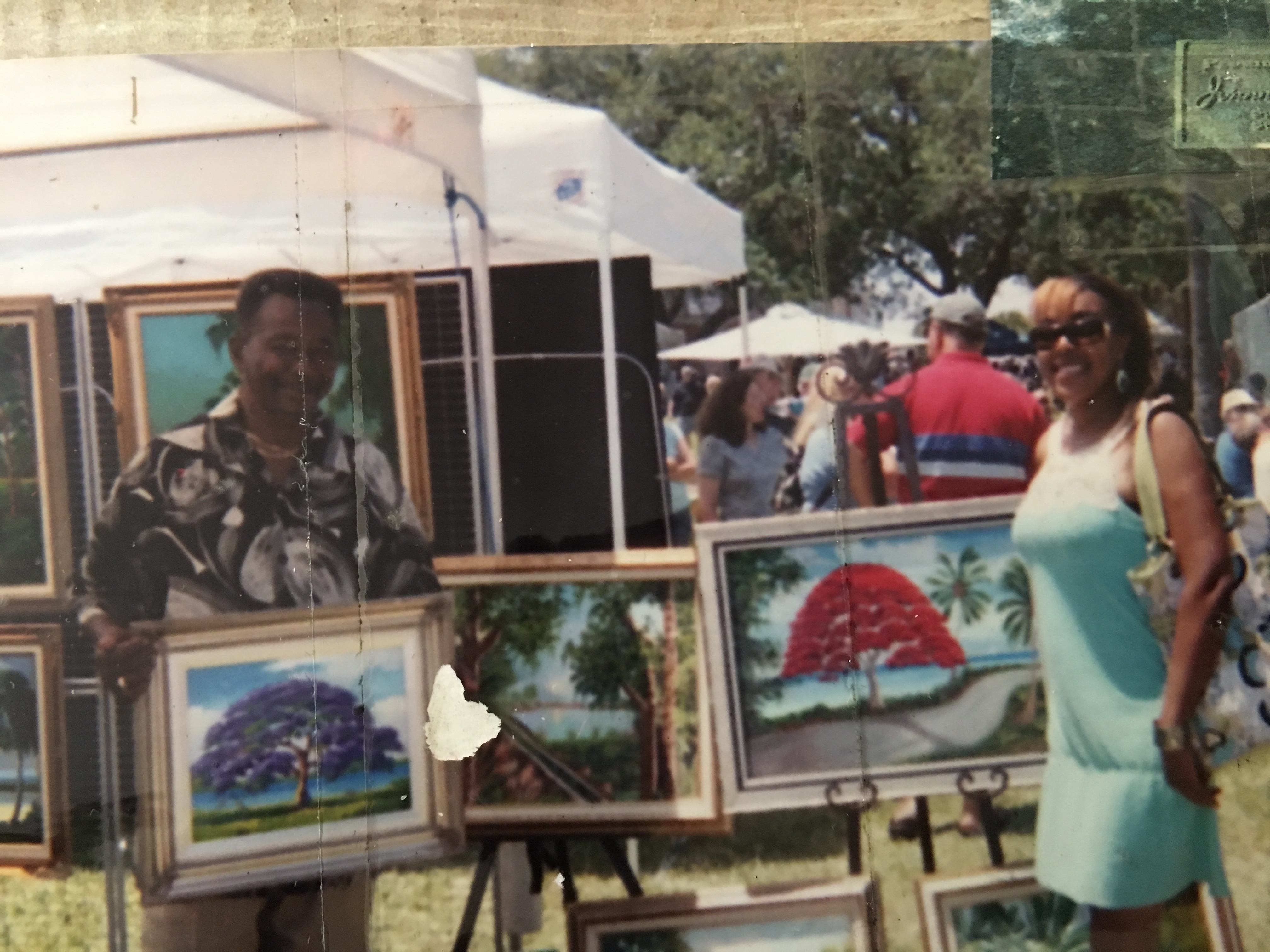 Highwaymen painters James Gibson and AJ Brown are a part of the Highwaymen Heritage Trail in St. Lucie County Florida