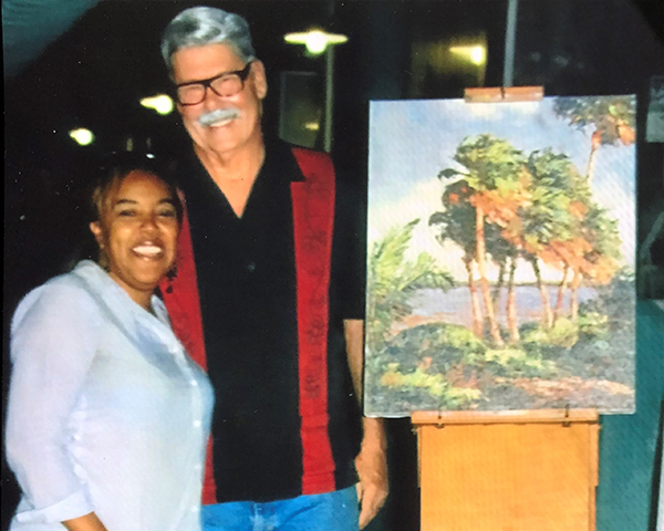 2011 Halloween Nights presents an original AE Backus painting from the collection of the AE Backus Museum