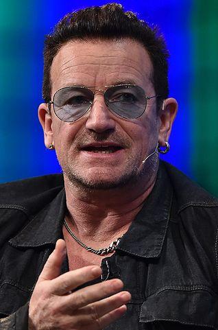 U2 Singer Bono from 2014