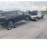 Vehicle Wheel Dolly Towing Service