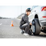 Car Tire Changing