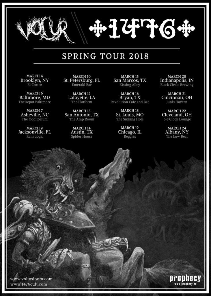 1476 east coast tour 2018