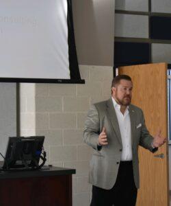 Joel Griffin Speaking Stafford EDA