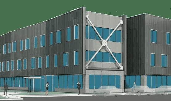 Cyber Bytes Foundation Building Render