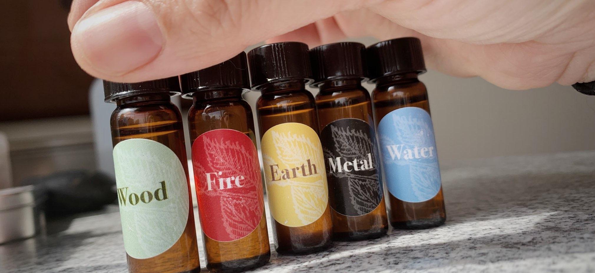 Essential Oils Five Element acupuncture