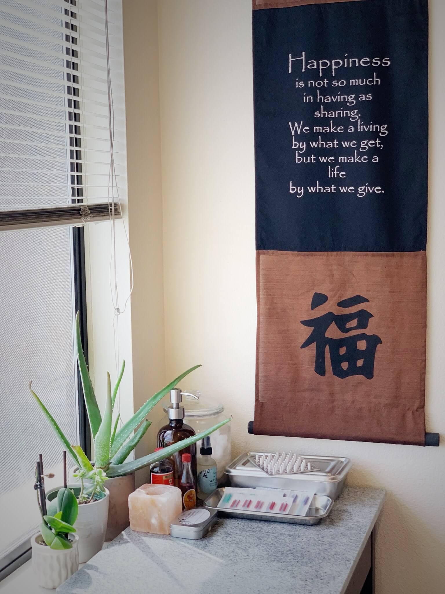 Chinese medicine happiness, ballard, seattle, acupuncture