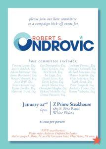 Robert Ondrovic Campaign Kick Off @ Z Prime Steakhouse