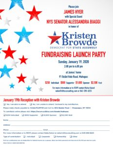 Kristen Browde Launch Party @ James's Home