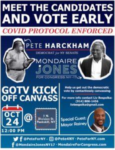 Pete Harckham/Mondaire Jones GOTV Canvass