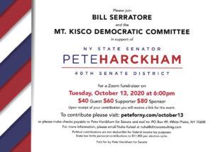 Pete Harckham Fundraiser w/ Mt. Kisco Dems