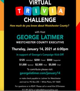 George Latimer Trivia Fundraiser