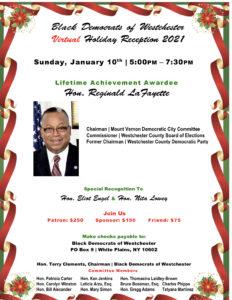 Black Dems Reception Honoring Reggie LaFayette