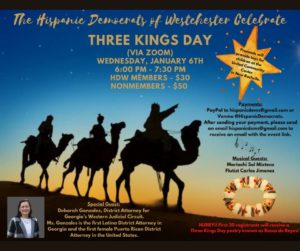 Hispanic Dems Three Kings Day Celebration