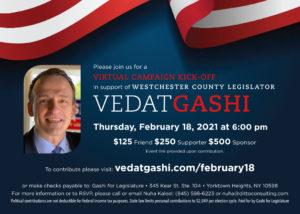 Vedat Gashi Fundraiser