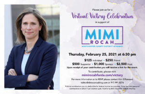Mimi Rocah Victory Celebration