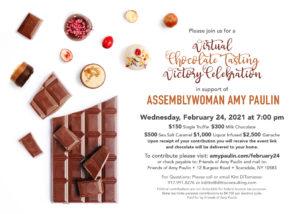 Amy Paulin Fundraiser