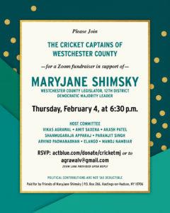 MaryJane Shimsky Fundraiser