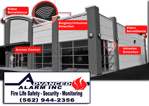 Business Alarm Systems Los Angeles Ventura