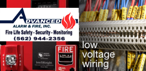 Fire Alarm Low Voltage Services Orange County Los Angeles CA