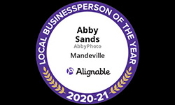 Alignable 202-21 Local Businessperson of the Year Abby Sands AbbyPhoto Mandeville