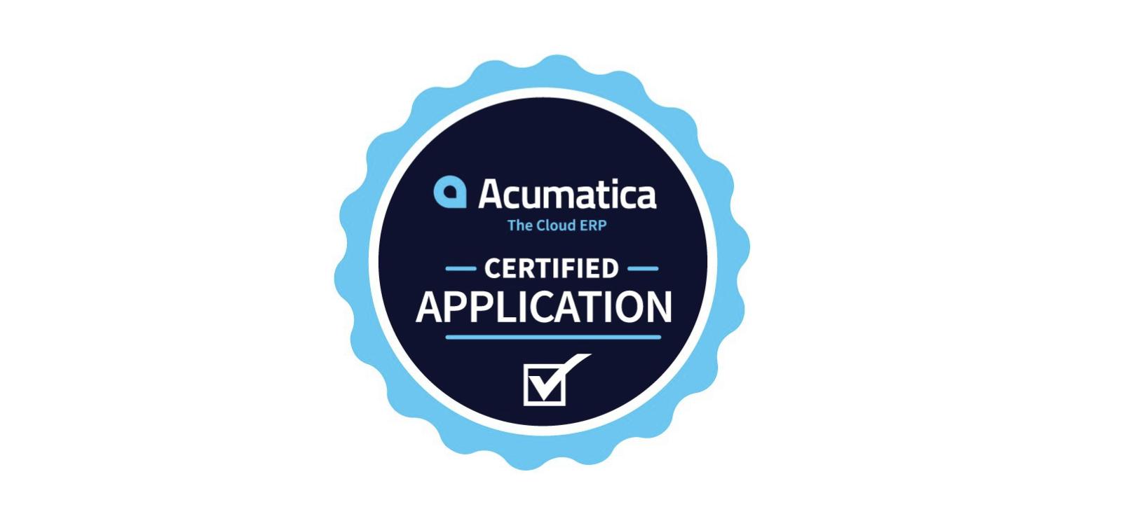 Acumatica_Certified_Application