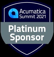 Acumatica Summit 2021 Platinum Sponsor Badge