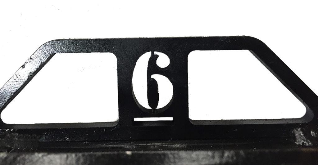 6 closeup