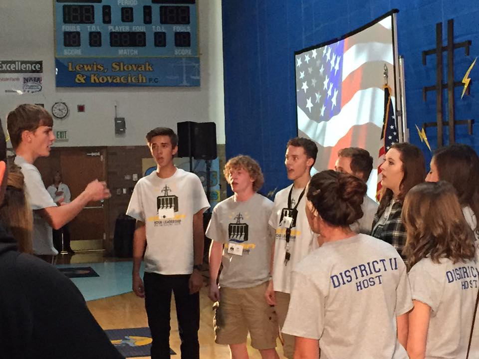 The National Anthem at the opening of the 62nd Annual MASC Conference in Great Falls (2015).