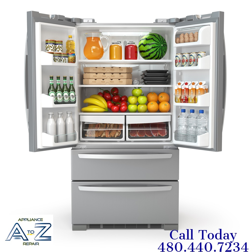 open-fridge-refrigerator-full-of-food-and-drinks-isolated-on-white-picture-id943446522